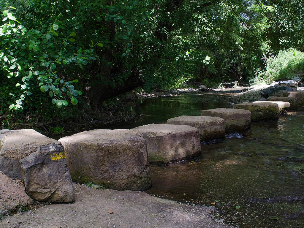 Paso sobre el Río Múrtigas.