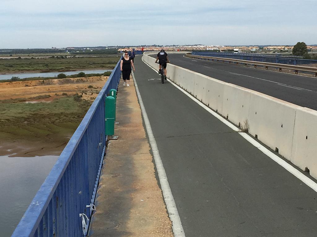 Puente Sifón, entrada a Huelva