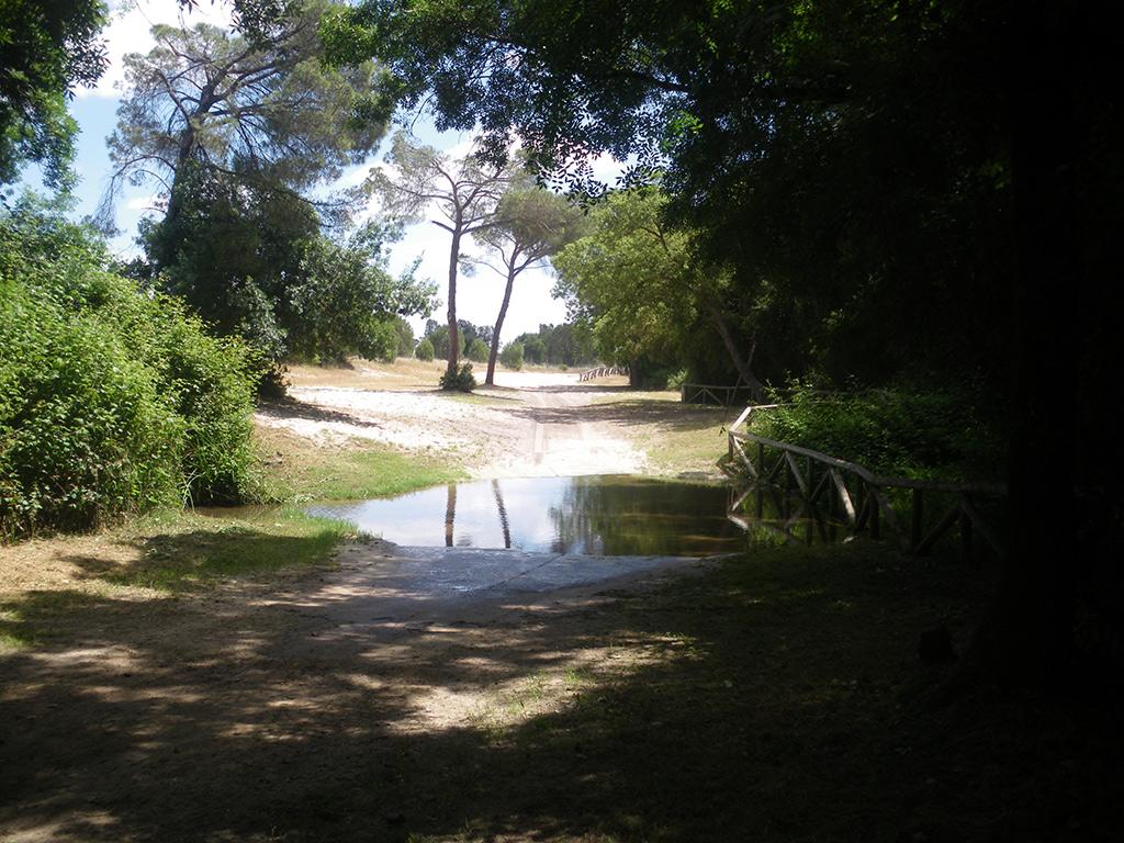 Vado del arroyo Trebejil