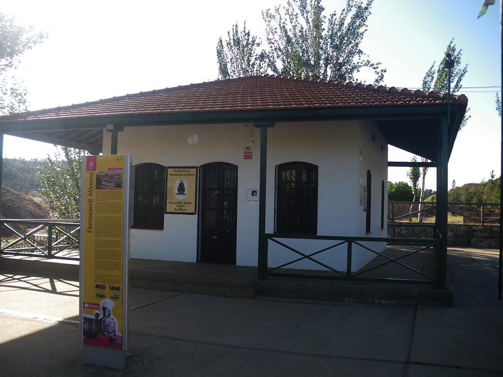 Centro de recepción del ferrocarril turístico minero